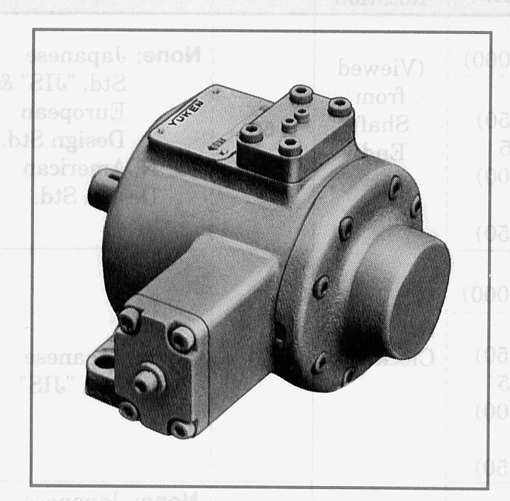 Variable Volume Vane Pumps (VPVQ, VPVQQ series)