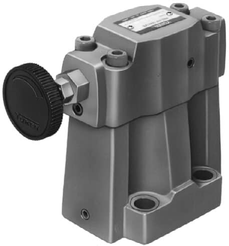 Low Noise Type Pilot Operated Relief Valves (S-BG)
