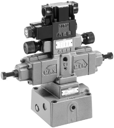 Pilot Control Valve : Pilot operated flow control valves fh c g
