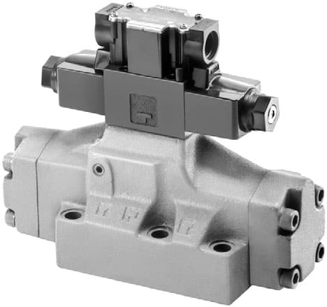 DSHG Pilot Operated Series Solenoid Operated Directional Valves
