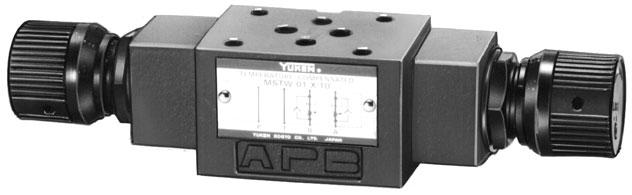 01 Series Modular Valves