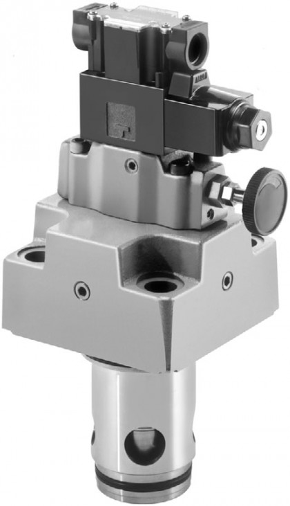 Solenoid Controlled Relief Logic Valves (LBS)