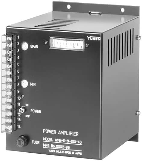 Power Amplifiers For 40Ω Flow Control Valves (AME-D/DF/T)