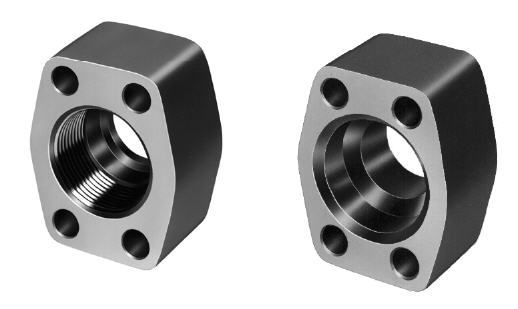 Four-Bolt Solid Flanges/Air Bleed Valves