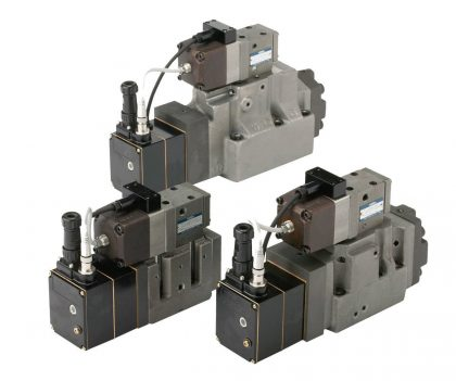 OBE (On-Board Electronics) Type Linear Servo Valves